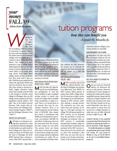 2009_Sept Oct_GMM_Tuition_programs_DownriverProfile