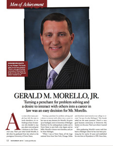 Men of Achievement: GERALD M. MORELLO, JR.
